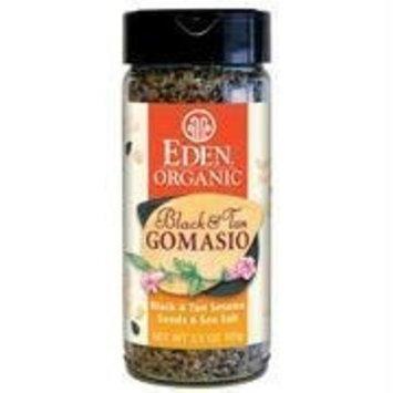 Eden Foods Organic Black & Tan Gomasio Sesame Salt 3.5 oz. (Pack of 12)