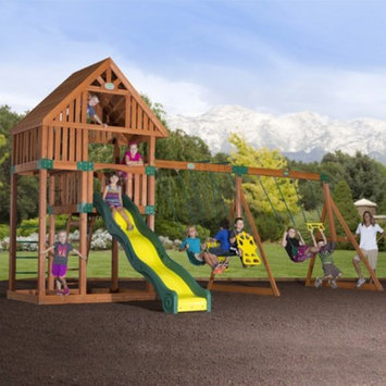 Backyard Discovery Adventure Playsets Quest All Cedar Swingset