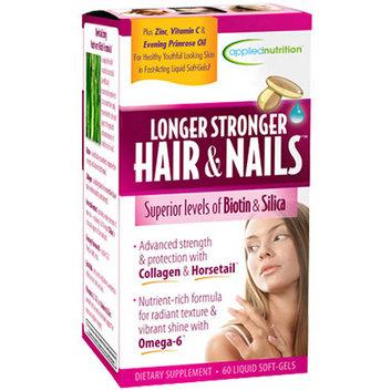 Longer Stronger Hair & Nails Supplement
