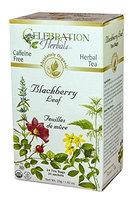 Celebration Herbals Organic Blackberry Leaf Caffeine Free 24 Tea Bags