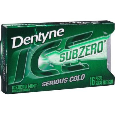Dentyne Ice Sub Zero Iceberg Mint Sugar Free Gum