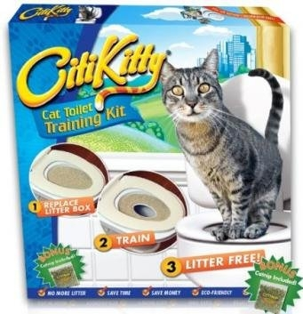 Citi Kitty  Cat Toilet Training Kit