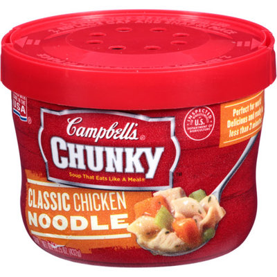 Campbells Campbell's Chunky Classic Chicken Noodle Soup Bowl 15.25 oz