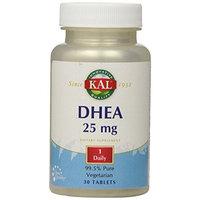 KAL DHEA 25 mg Vegetarian Tablets, 30 Count