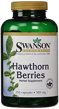 Swanson Hawthorn Berries 565 mg 250 Caps