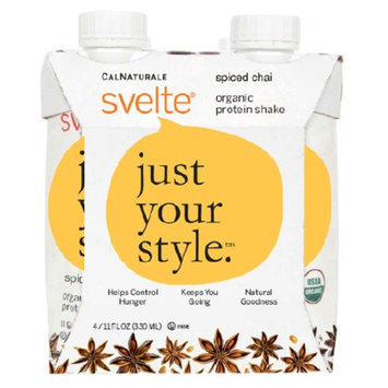 CalNaturale Svelte Organic Protein Shake Spiced Chai