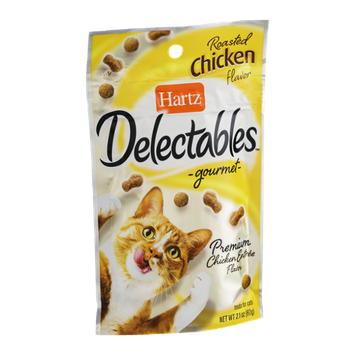 Hartz Delectables Gourmet Treats for Cats Roasted Chicken