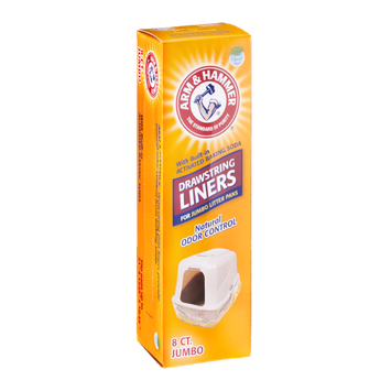 ARM & HAMMER™ Drawstring Liners Natural Odor Control Jumbo Fresh Scent