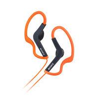 Sony MDR-AS200/ORG Clip-On Headphones - Orange