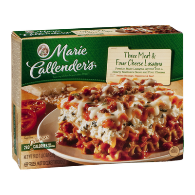 Marie Callender's Three Meat & Cheese Lasagna