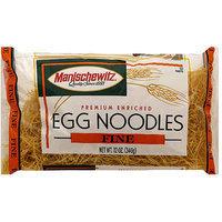 Manischewitz Fine Egg Noodles, 12 oz (Pack of 12)