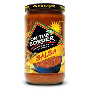 Truco Enterprises Lp. On The Border Mexican Grill & Cantina Medium Salsa, 24 oz
