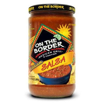 Truco Enterprises Lp. On The Border Mexican Grill & Cantina Medium Salsa, 24 oz