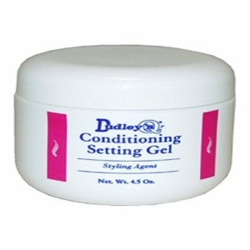 Dudley's Conditioning Setting Gel for Unisex - 4.5 oz