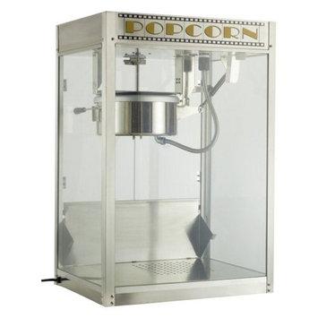 Benchmark USA 11087 Silver Screen Popcorn Machine - 8 Oz