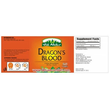 Deluxecomfort Dragons Blood pure Extracts x50