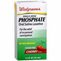 Walgreens Oral Saline Laxative, Cherry, 1.5 fl oz
