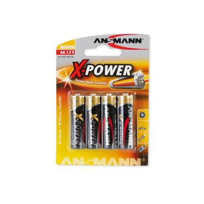 Ansmann 5015663 Ansmann X-Power Alkaline Battery AA -4 -Pack