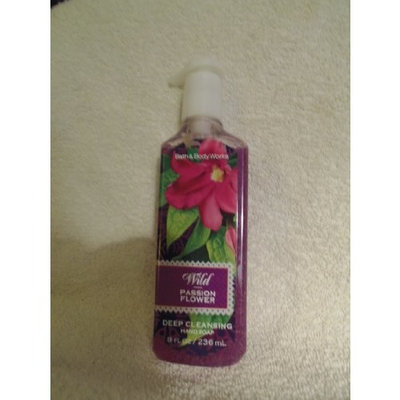 Bath & Body Works Island Wild Passion Flower Deep Cleansing Hand Soap
