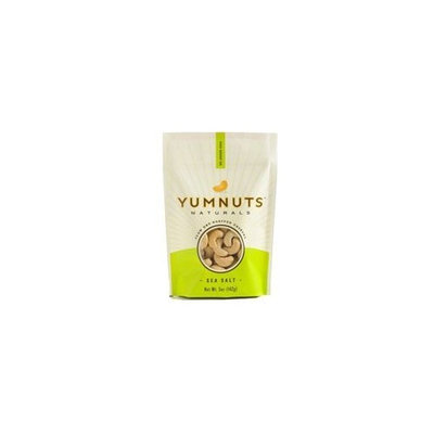 Yumnuts Naturals YUMNUTS Sea Salt Cashews - 5 OZ