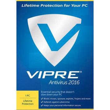 ThreatTrack VAV1LT2016ESD-0000US VIPRE Anti-Virus 2016, 1 PC, Lifetime (Email Delivery)