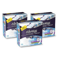 Always Discreet Moderate Absorbency Long Length Incontinence Pads -
