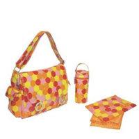 Kalencom Coated Double Buckle Bag Check/Pink