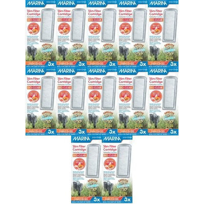 Hagen Marina Bio Clear Cartridge for Slim Filters 36pk (12 x 3pk)