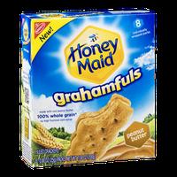 Honey Maid Grahamfuls Filled Cracker Packs Peanut Butter - 8 CT