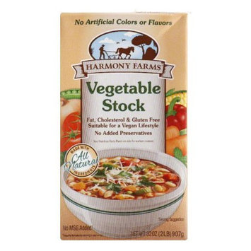 Harmony Farms Stock Vegetable 32 FO (Pack of 12)