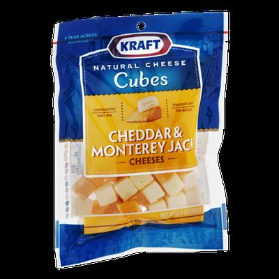 Kraft Cubes Cheddar & Monterey Jack Cheese