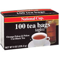 National Cup Orange Pekoe & Pekoe Cut Black Tea, 8 oz