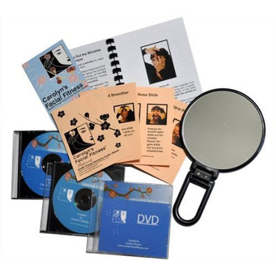 Facial Exercises by Carolyn's Facial Fitness - Full Kit with DVD
