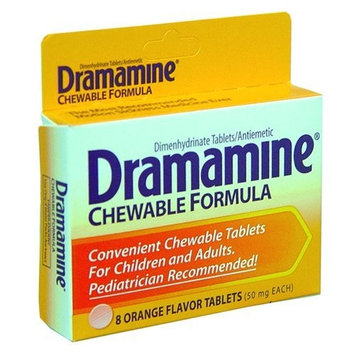 Dramamine Chewable 8's (Pack of 6)