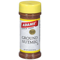 Adams Ground Nutmeg Spice, 3 oz