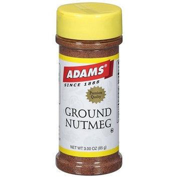 Adams Ground Nutmeg Spice, 3 oz