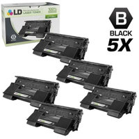 LD Compatible Replacements for Xerox 113657 (113R00657) Set of 5 High Yield Black Laser Toner Cartridges for use in Xerox Phaser 4500, 4500b, 4500dt, 4500dx, and 4500n Printers