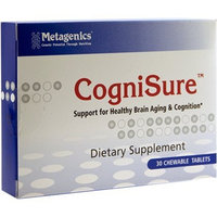 Metagenics - CogniSure Chocolate - 30 Chewable Tablets CLEARANCE PRICED
