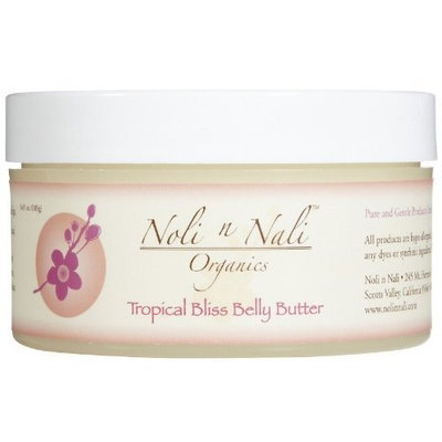 NOLI N NALI LLC Noli n Nali Tropical Bliss Belly Butter Tube, 6 Ounce