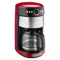 KitchenAid 14-Cup Glass Carafe Coffee Maker- Empire Red KCM1402