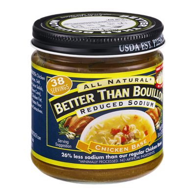 Better Than Bouillon Reduced Sodium Chicken Base