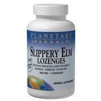 PLANETARY HERBALS Slippery Elm Lozenges, Unflavored, 200 Count