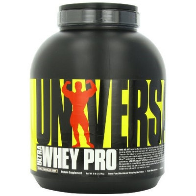 Universal Nutrition - Ultra Whey Pro Triple Whey Formula Double Chocolate Chip - 5 lbs.
