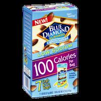 Blue Diamond Low Sodium 100 Calories Lightly Salted Almonds - 7 PK