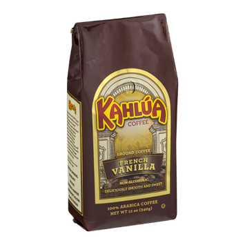 Kahlua Coffee Ground Coffee French Vanilla