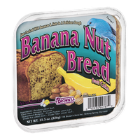 Brown's Banana Nut Bread Suet Cake