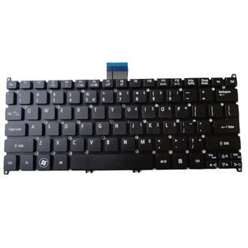 Acer America Acer Aspire One 725 756 TravelMate B113-E B113-M Black Netbook Keyboard KB. I100A.207