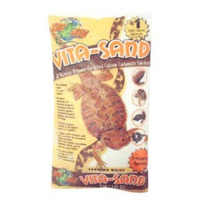 Zoo Med Vita Sand White 10Lb 3 Pc