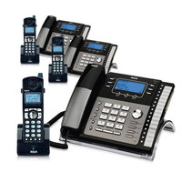 Ge/rca RCA ViSYS 25424RE1 & H5401RE1 (3-Pack) GE / RCA Cordless / Corded Phone System