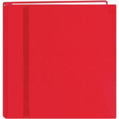 Pioneer Photo Albums Snapload Scrapbook Cloth With Ribbon 12X12-Red